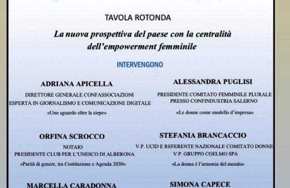 """Pari Opportunità – Webinar da Confassociazioni Campania su  """"La centralità dell'empowerment femminile"""""""
